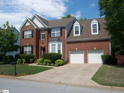 Simpsonville Single Family Home Contingency Contract: 7 Lake Valley