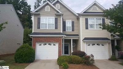 Simpsonville Condo/Townhouse For Sale: 10 Bay Springs