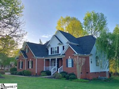 Easley Single Family Home For Sale: 106 Clearstone