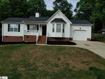 Simpsonville Single Family Home Contingency Contract: 306 Oak Valley