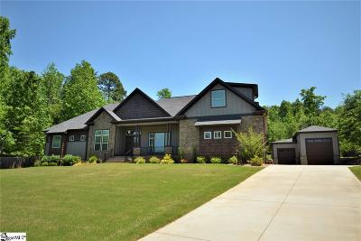 Spartanburg Single Family Home Contingency Contract: 208 Woodlake