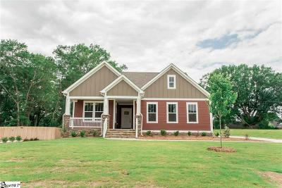 Simpsonville Single Family Home For Sale: 10 Rosecrest