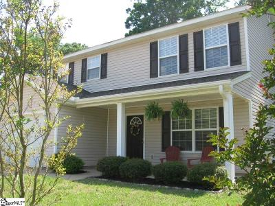 Greer Single Family Home For Sale: 17 Dill Creek