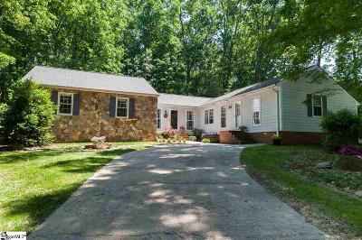 Spartanburg Single Family Home Contingency Contract: 900 Sussex