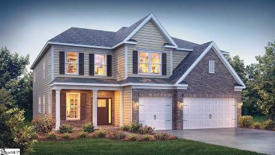 Greer Single Family Home For Sale: 804 Abacos #Lot 35