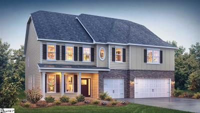 Greer Single Family Home For Sale: 221 Granito #Lot 27