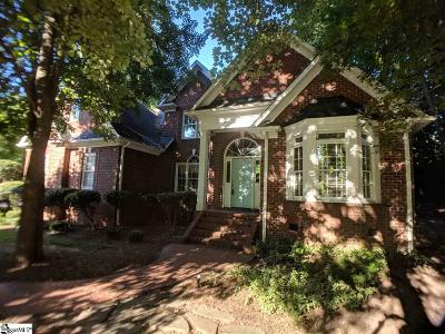 Simpsonville Single Family Home For Sale: 10 Venetian