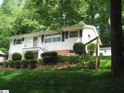 Greenville County Single Family Home For Sale: 120 Brookside