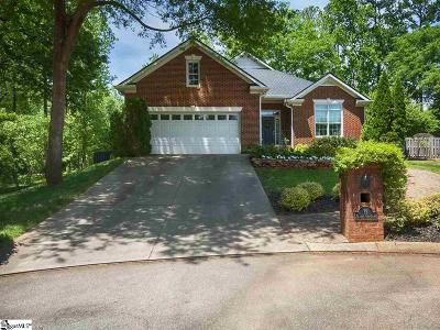 Greer Single Family Home For Sale: 12 Meadow Pond