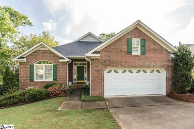 Greer Single Family Home For Sale: 207 Woods