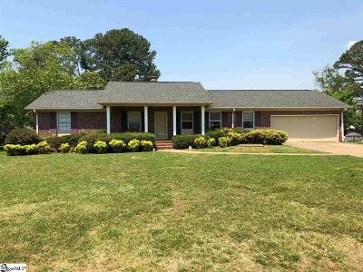 Mauldin Single Family Home For Sale: 208 Leake