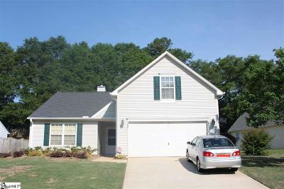 Simpsonville Single Family Home Contingency Contract: 208 Rivereen