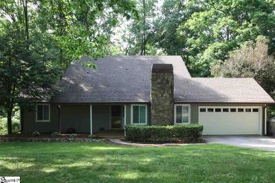 Spartanburg Single Family Home Contingency Contract: 325 Seven Oaks