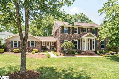 Simpsonville Single Family Home For Sale: 906 Plantation