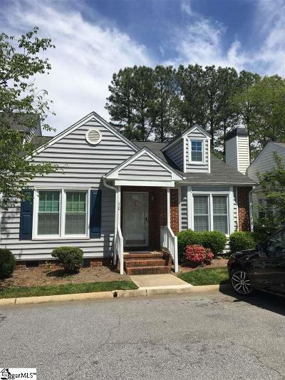 Greenville Condo/Townhouse Contingency Contract: 40 Wood Pointe #70