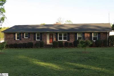 Taylors SC Single Family Home Sold: $198,000