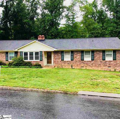 Greenville Single Family Home Contingency Contract: 7 Great Glen