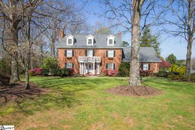 Anderson Single Family Home For Sale: 1015 Harpers