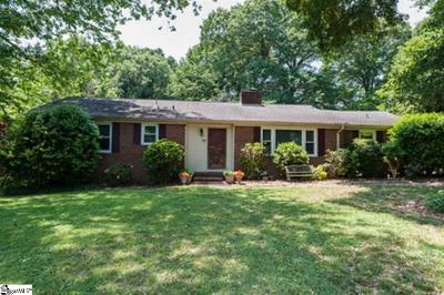 Spartanburg Single Family Home For Sale: 104 Quail