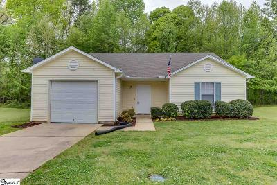 Greenville Single Family Home For Sale: 12 Swamp Fire