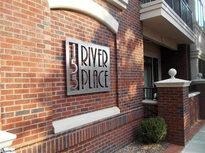 Greenville Condo/Townhouse For Sale: 155 Riverplace #Unit 204