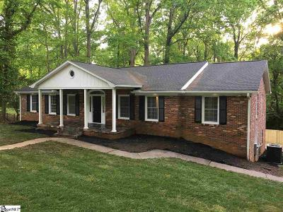 Greenville Single Family Home For Sale: 215 Covington