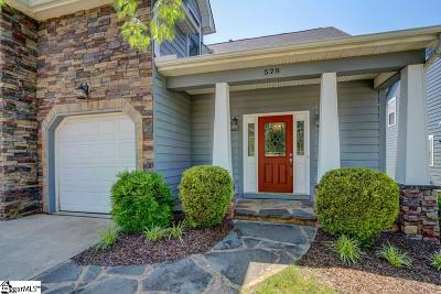 Spartanburg Single Family Home For Sale: 528 Serendipity