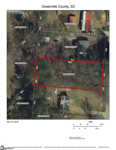 Greenville County Residential Lots & Land For Sale: White Oak