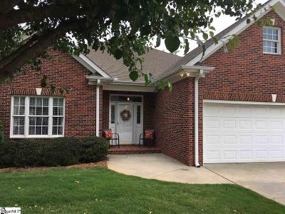 Greenville Single Family Home For Sale: 11 Bradford North