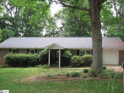 Greenville Single Family Home Contingency Contract: 53 Doverdale
