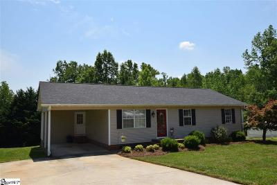 Greenville Single Family Home Contingency Contract: 1622 Piedmont Park Road