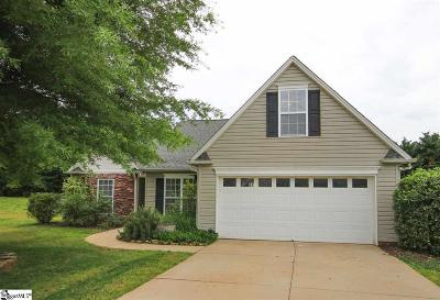 Easley Single Family Home Contingency Contract: 111 Timber Trace
