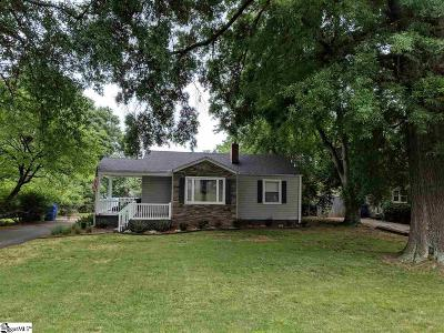 Greenville Single Family Home Contingency Contract: 113 Columbia