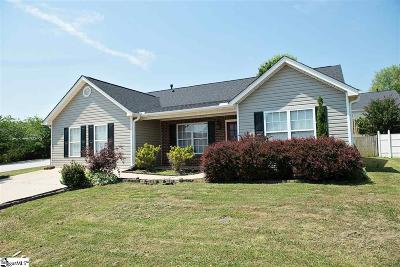Greer Single Family Home For Sale: 114 Chartwell