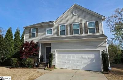 Simpsonville Single Family Home For Sale: 1 Ridgeleigh