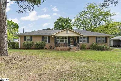 Greenville Single Family Home Contingency Contract: 306 Pine Knoll