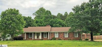 Easley Single Family Home Contingency Contract: 308 Antioch