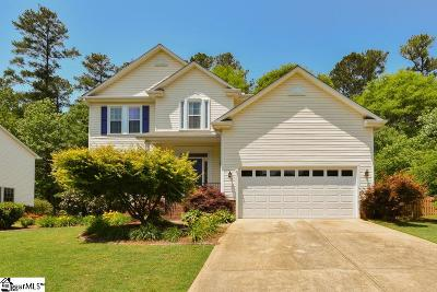 Mauldin Single Family Home For Sale: 210 Marsh Creek