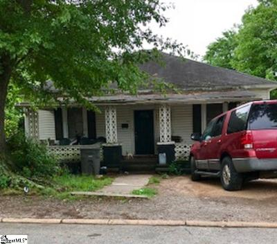 Greenville Single Family Home For Sale: 16 6th
