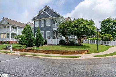 Simpsonville Single Family Home Contingency Contract: 27 Marquette