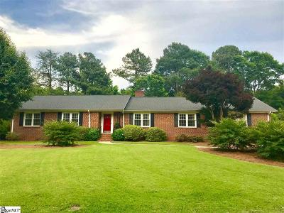 Spartanburg Single Family Home For Sale: 311 Holly