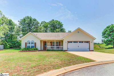 Greer Single Family Home Contingency Contract: 9 Red Haven