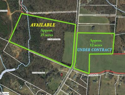 Greer Residential Lots & Land For Sale: 33386 Ridge