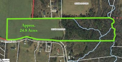 Greer Residential Lots & Land For Sale: 33377 Ridge