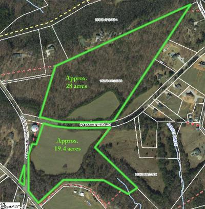 Greer Residential Lots & Land For Sale: 33534 Pleasant Hill