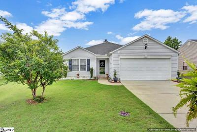 Simpsonville Single Family Home For Sale: 25 Parkgate