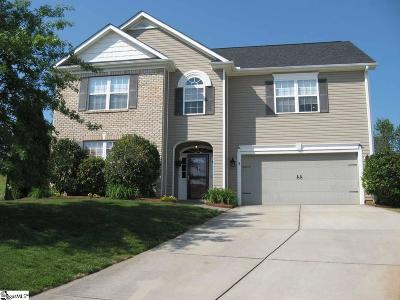 Greer Single Family Home For Sale: 731 Dutchman