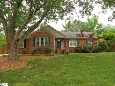 Greenville Single Family Home For Sale: 5010 Coach Hill