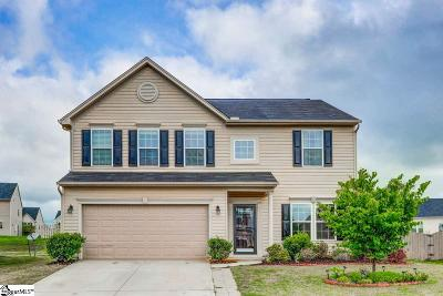 Simpsonville Single Family Home For Sale: 35 Young Harris