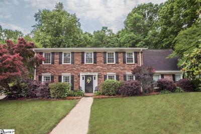 Simpsonville Single Family Home For Sale: 304 Lancelot